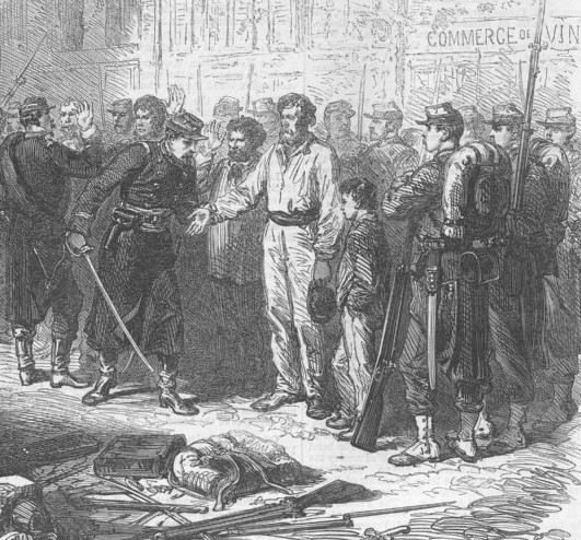 Les arrestations en mai 1871